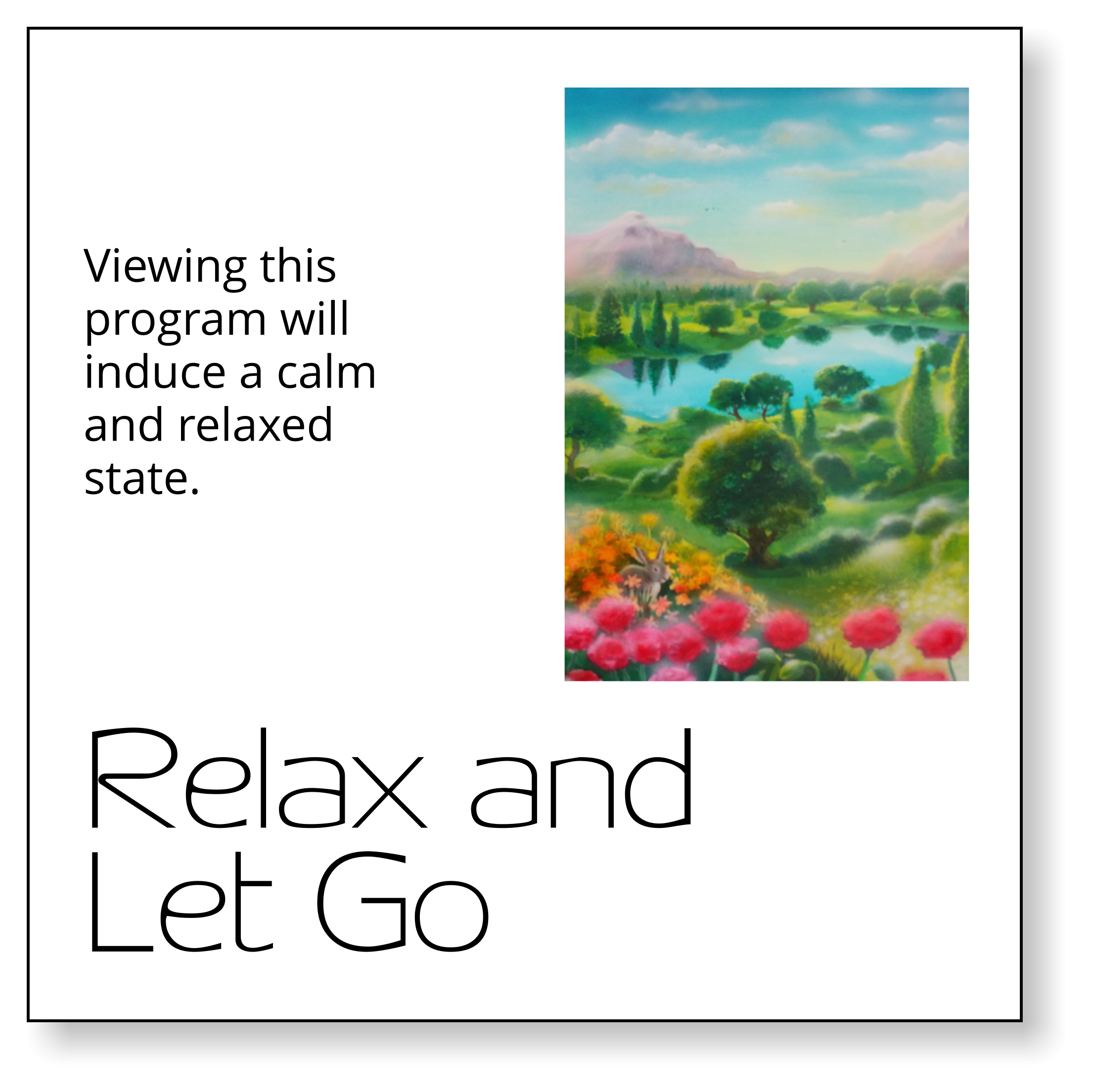 Relax and Let Go PsyV cover